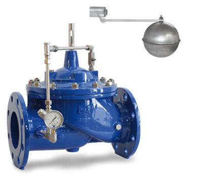 photo of the proportional level control valve XLC 460-MCP