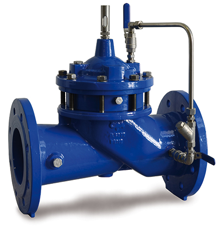 Photo of the proportional pressure reducing valve XLC 300-DC-PR